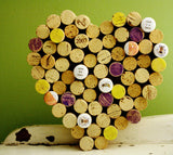 SAVE THE BEES Corkboard | Recycled Wine Corks