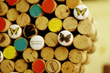 Anti-Social Butterfly Corkboard | Recycled Wine Corks