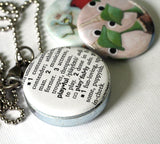 the princess and the frog locket necklace