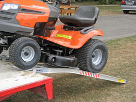 Ride-on Mower Ramps