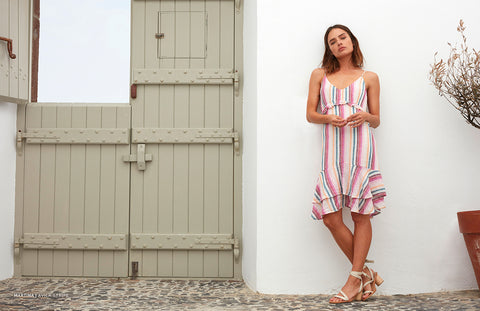 Martina Avila Stripe Dress