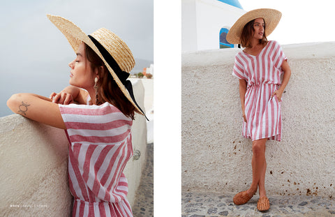 Wren Seville Stripe Dress