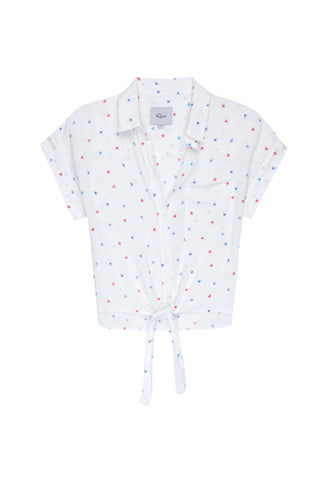 Amelie Watercolor Stars Top