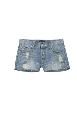 Austin Medium Vintage Paint Splatter shorts
