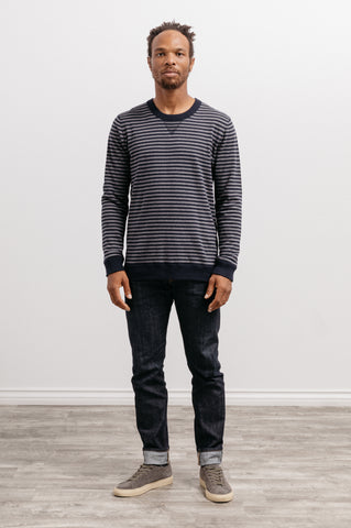 Barrett - Navy Heather Charcoal
