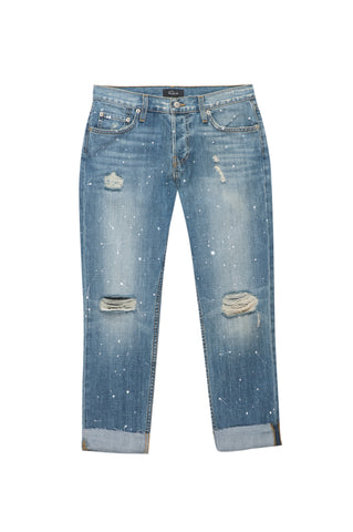 Beckett Medium Vintage Paint Splatter jeans