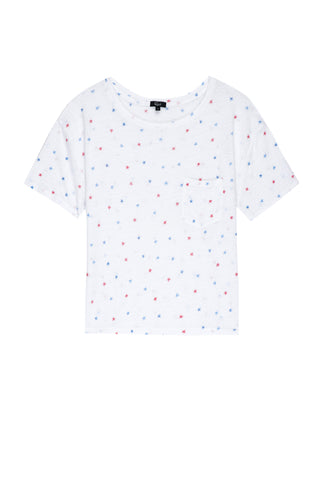 Billie Watercolor Stars Tee