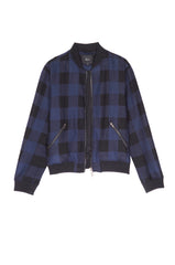 Bolton - Navy Buffalo Check