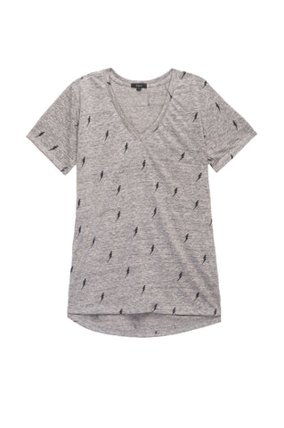 Cara - Heather Grey Lightning