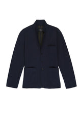 Dwight unconstructed blazer in Navy - flat