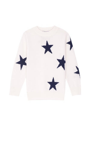 LR GEMMA - CREAM NAVY STARS