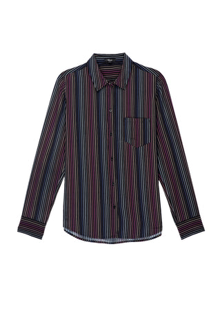 Kate - Silk Rainbow Stripe