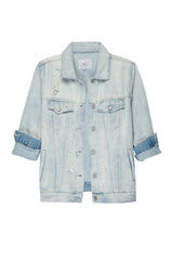 Custom Knox Letterman - Light Vintage Wash