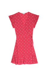 LEANNE - SILK RASPBERRY CREAM DOTS