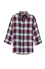 Lennox Patriot Cardinal White shirt