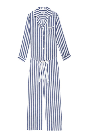 Long Sleeve Pant Set - Albany Stripe