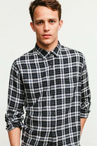 Lennox Onyx Midnight White shirt