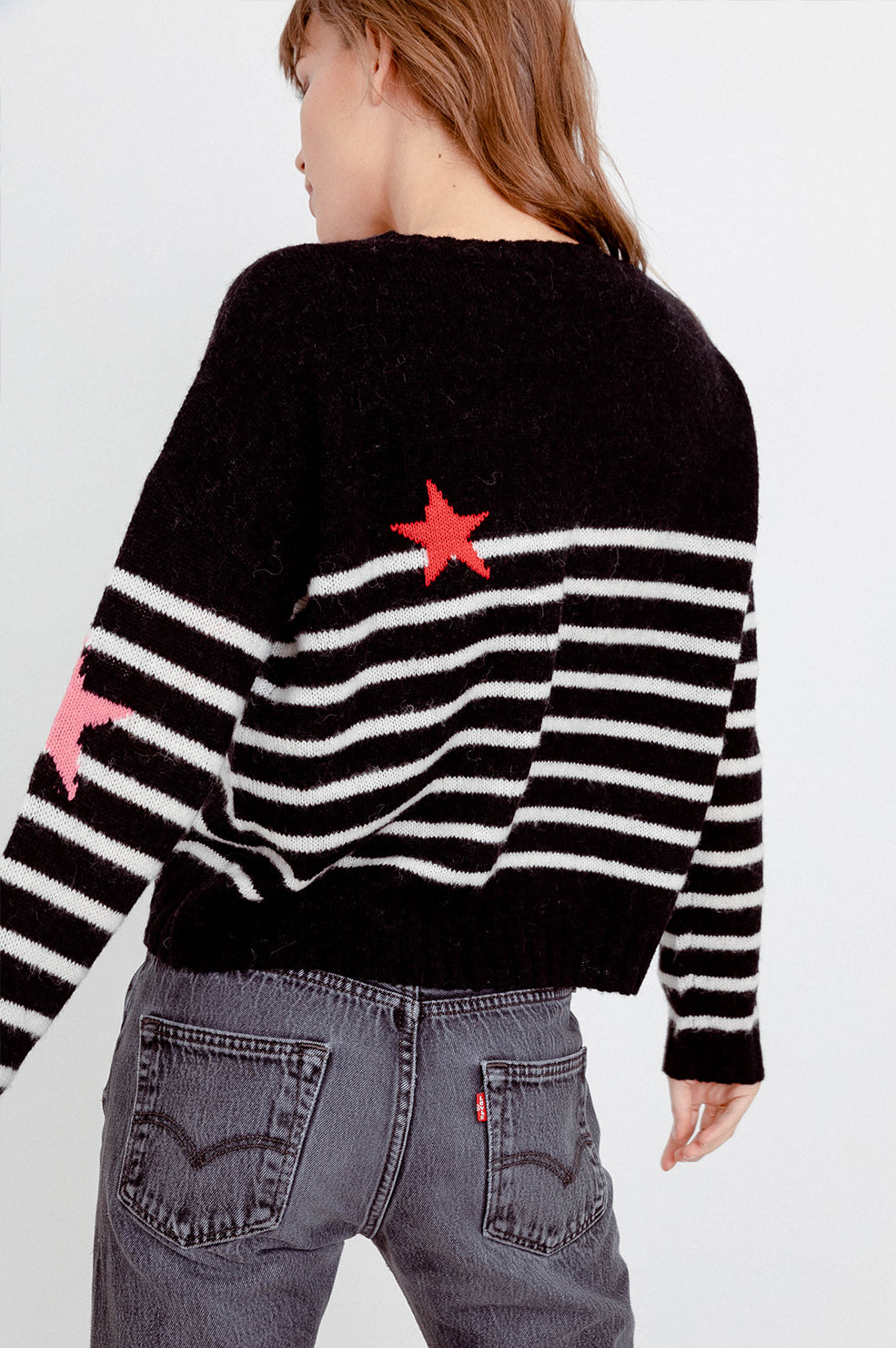PERCI - BLACK STRIPE MULTI