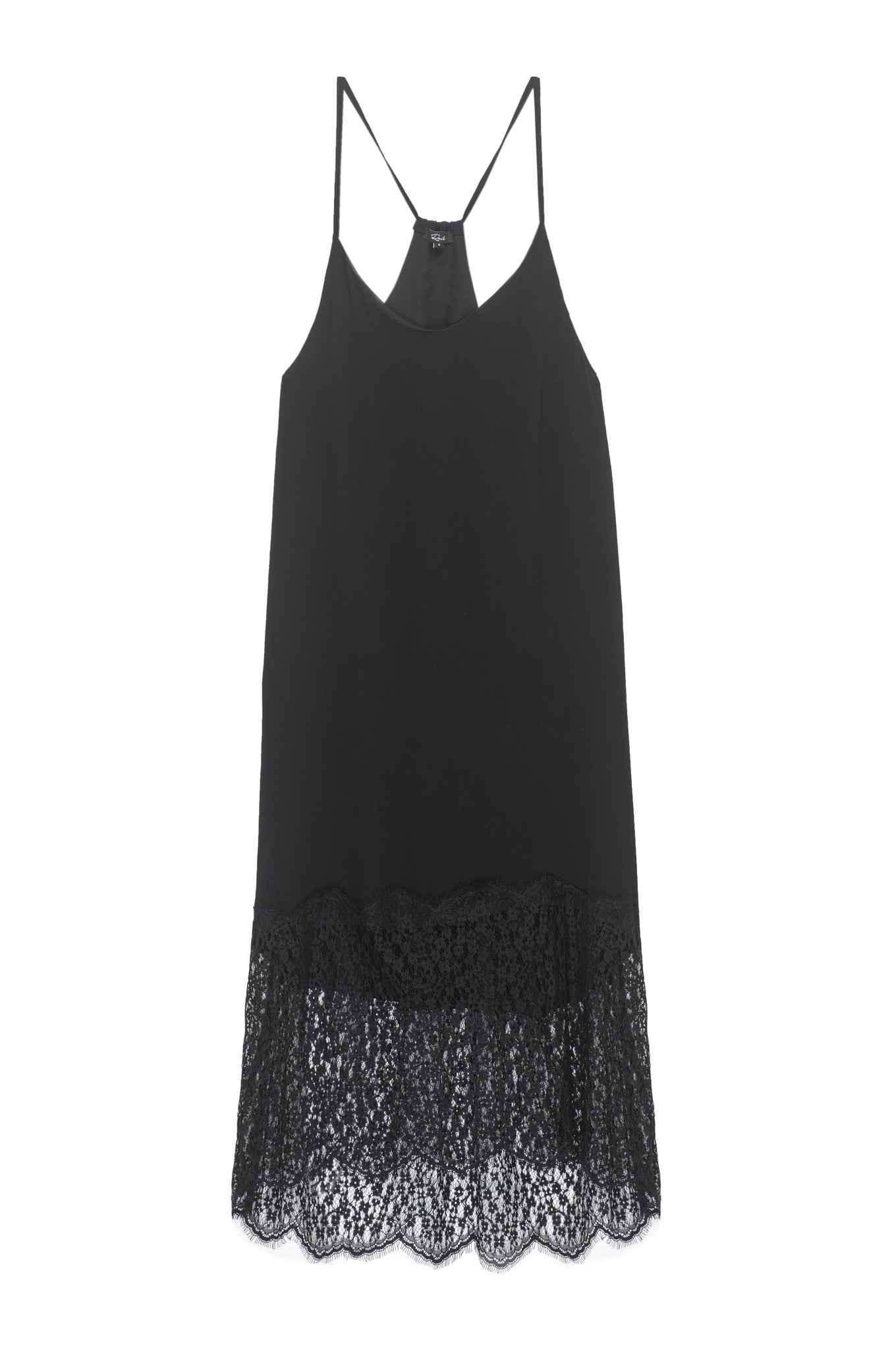 Sevilla - Black with Lace Trim