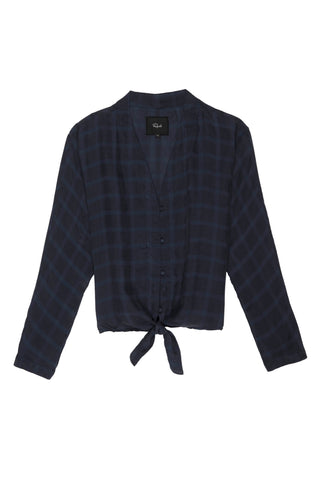 Sloane - Navy Tonal Plaid