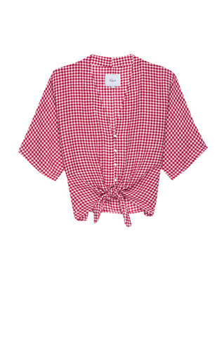 Thea - Red Mini Gingham