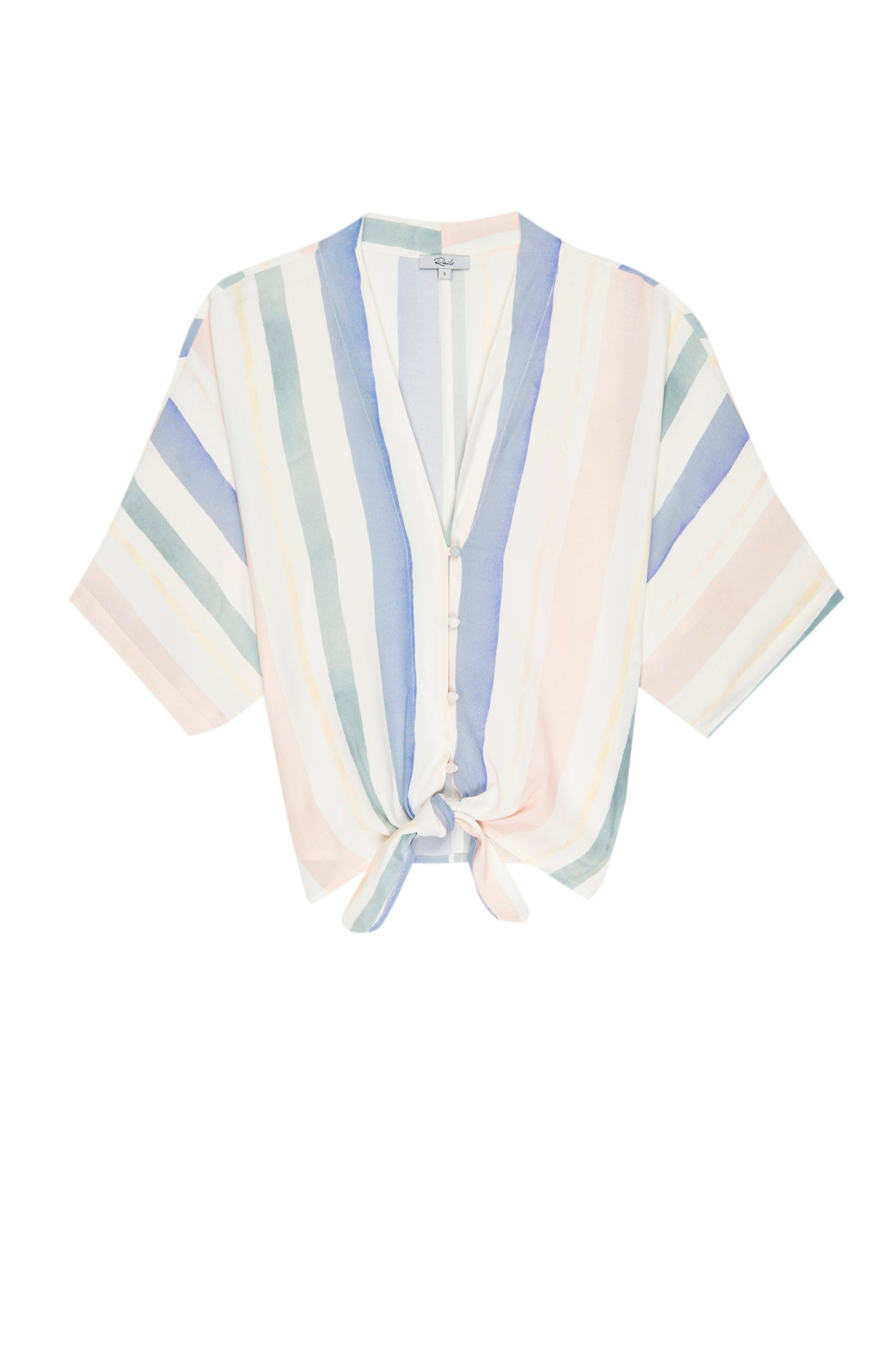 THEA - PASTEL WATERCOLOR STRIPE