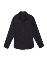WYATT - BLACK CHAMBRAY
