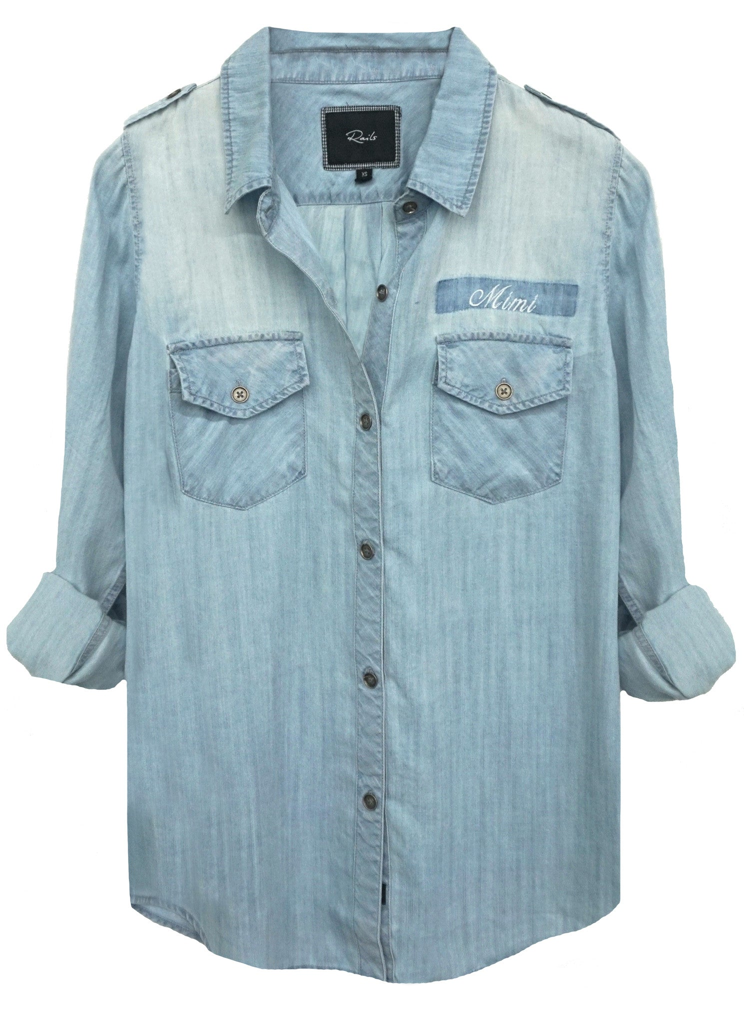 Monogrammed Tyson Button Down