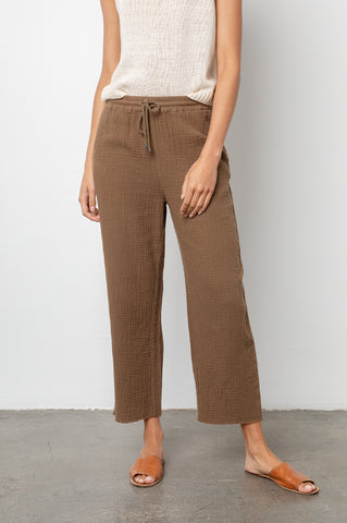 Agnes Canteen, Women's Pants, Brown