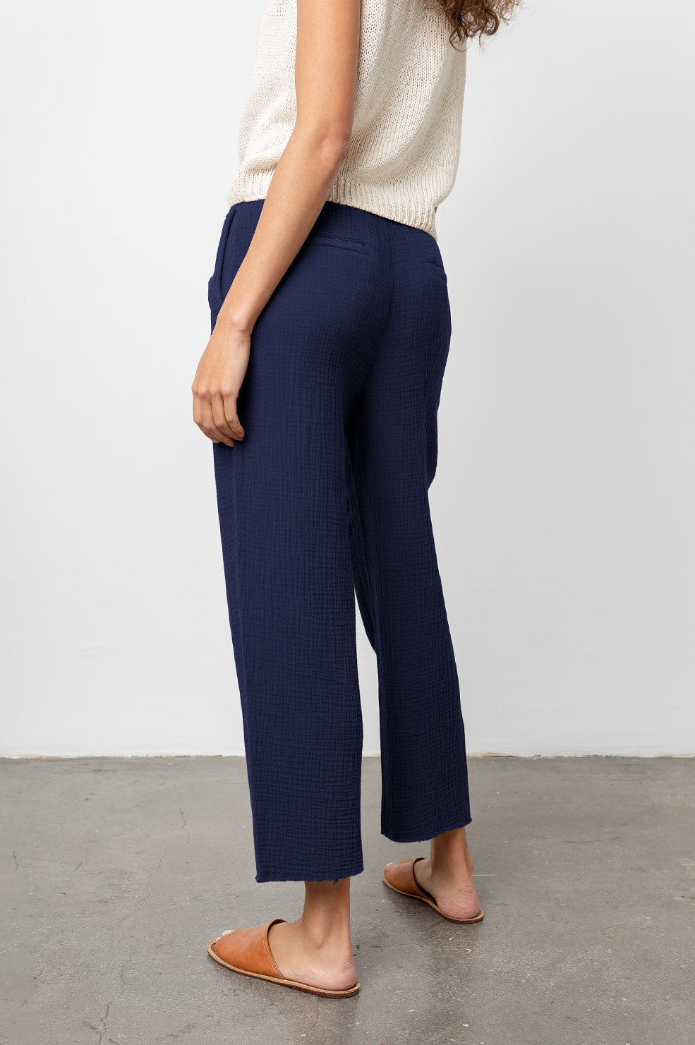 Agnes Navy, Women's Pants