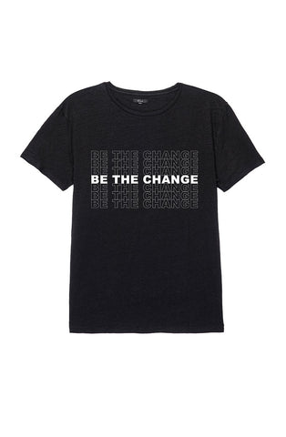 MEN'S BE THE CHANGE TEE - BLACK