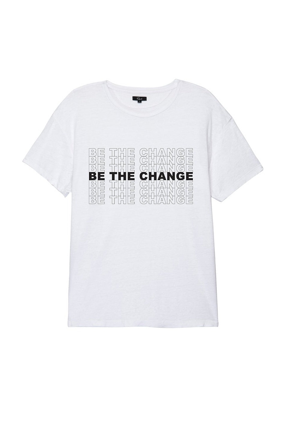 MEN'S BE THE CHANGE TEE - WHITE