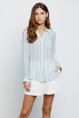Charli Juniper Stripe, Women's Long Sleeve Top