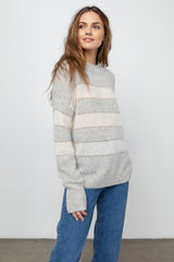 ELLISE - MIST IVORY STRIPE