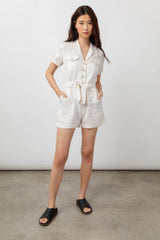 Georgie Stone, Women's Short Sleeve Romper