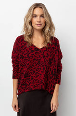 GRACIE - RED LEOPARD