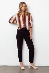 KATE - SILK VALENCIA STRIPE