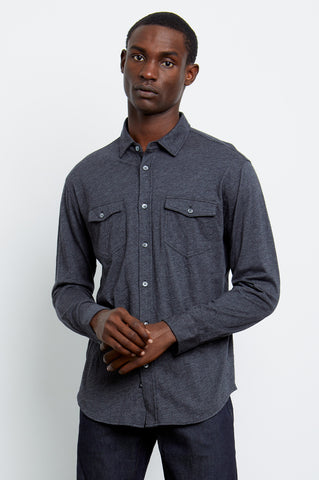 KENJI - CHARCOAL HEATHER