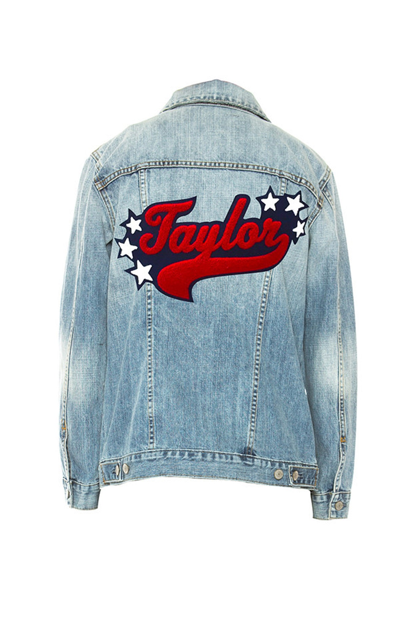 Custom Knox Letterman - Medium Vintage Wash