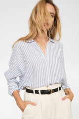 LEAH - BLUEBELL STRIPE
