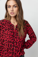 LILLIAN - RED LEOPARD
