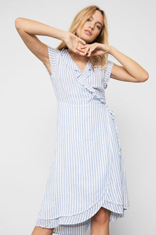 LOUISA - BLUEBELL STRIPE