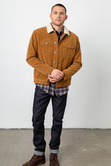 mckinley camel jacket front buttoned