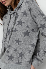 MURRAY - MELANGE GREY STARS