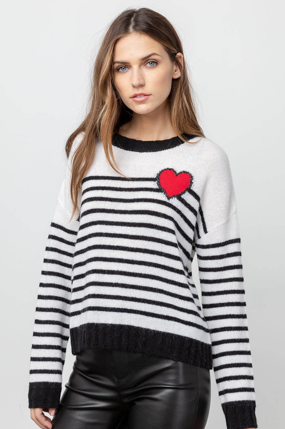 PERCI - BRETTON HEART STRIPE