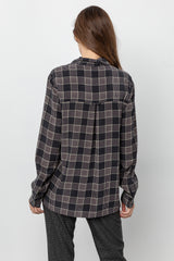 RHETT - SILK OXFORD PLAID