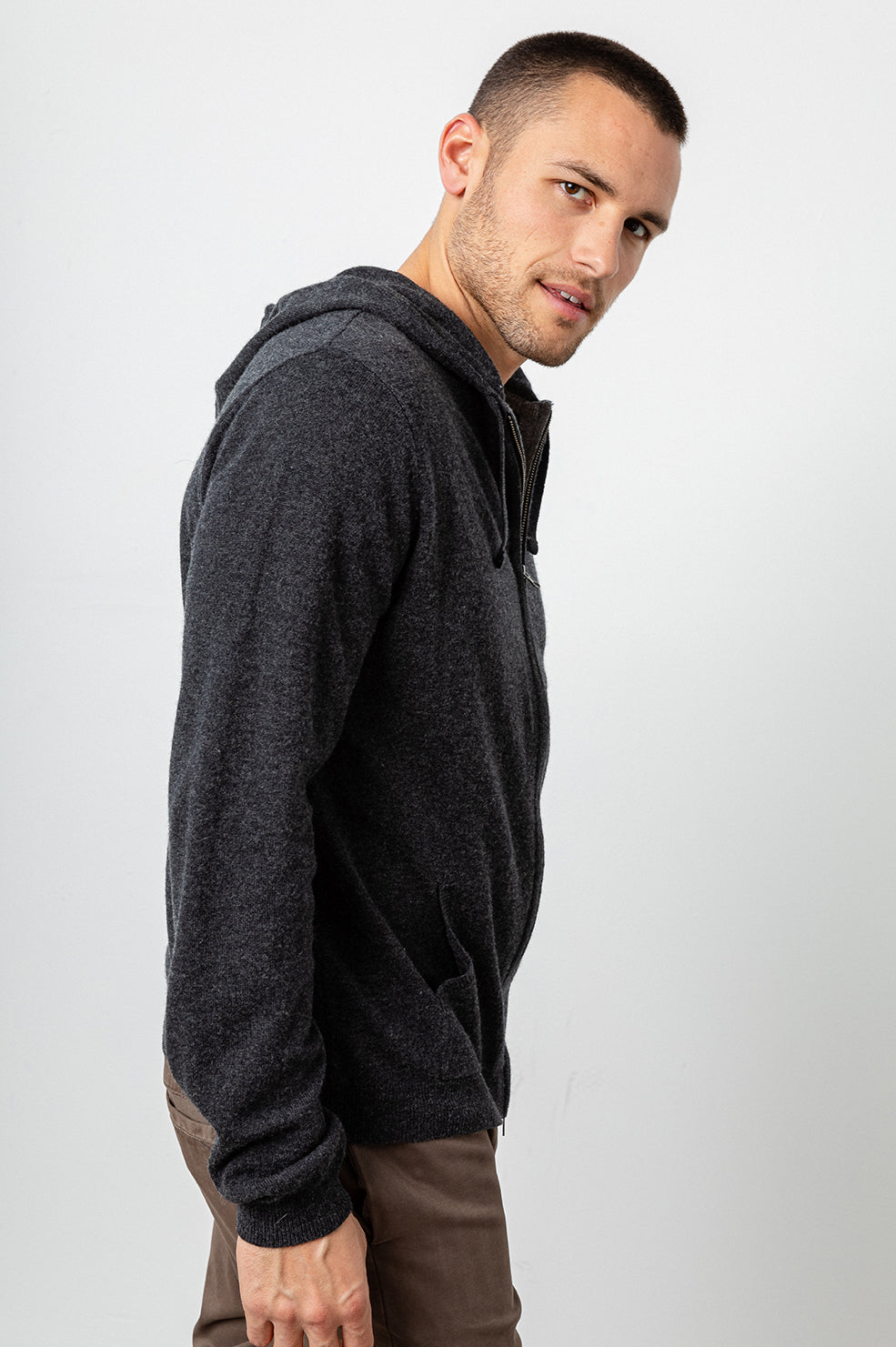 RYDER - CHARCOAL HEATHER