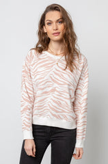 THEO - BLUSH TIGER STRIPES