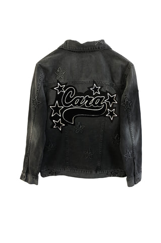 Custom Knox Letterman - Black with Stars