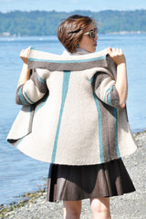 Cashmere Queen Reflections Jacket Free Knit Pattern Download at Mondaes Makerspace & Supply
